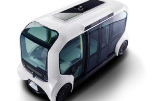 美感升級 Toyota車頂太陽能電動車「e-Palette」亮相